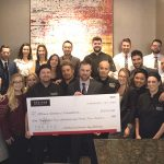 HIGH FIVE: The Keg raises more than $9,000 for Sens Foundation