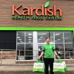 Kardish Health Food offers free grocery delivery and curb-side pick-ups
