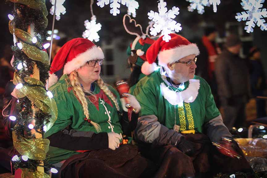 STITTSVILLE, ON. November 28. 2015. Tim Hortons floas at the Parade of Lights. Barry Gray (For StittsvilleCentral).