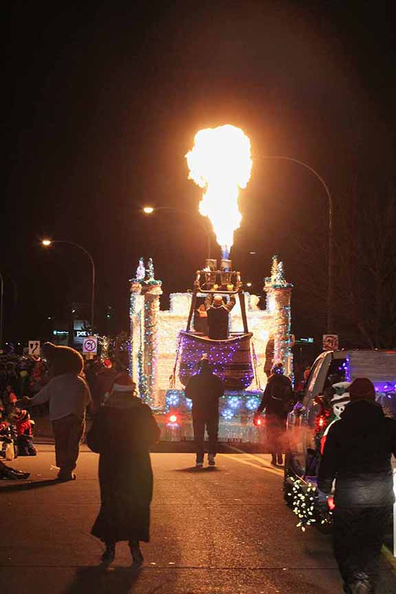 STITTSVILLE, ON. November 28. 2015. The Remax Real Esate float at the Parade of Lights. Barry Gray (For StittsvilleCentral).