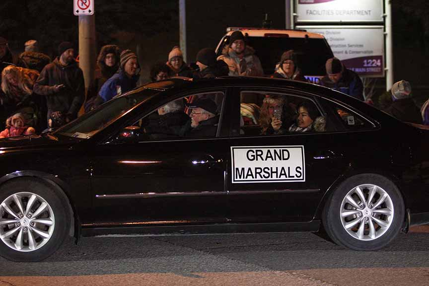 STITTSVILLE, ON. November 28. 2015. Parade Marshals at the Parade of Lights. Barry Gray (For StittsvilleCentral).