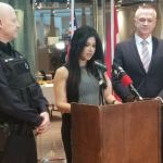 MPP Goldie Gharmari announces $13.8M in community policing and safer roads