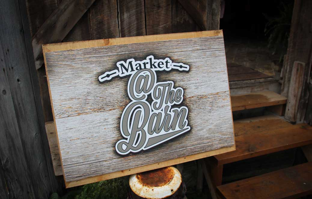 Market at the Barn, Friday June 30. Photo by Barry Gray.