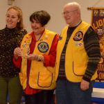 Stittsville Lion Marilyn Southall receives Harry A. Newman Diabetes Award