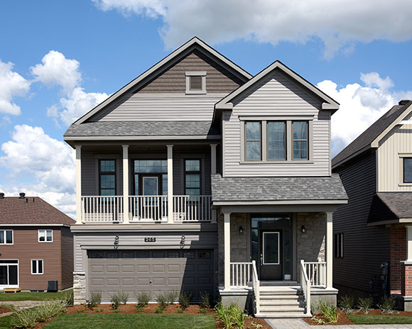 The Killarney is the first of five Net Zero energy ready homes coming to the Arcadia community.