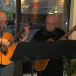 Neil Bateman and Pierre Monfils at Gaia Java on Friday