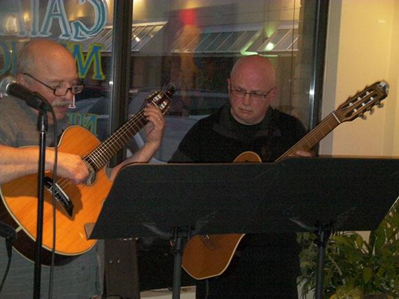 Neil Bateman and Pierre Monfils