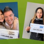 Kanata OLG winners celebrate their stroke of luck