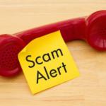 Be vigilant with suspicious phone calls