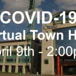 City holding virtual town hall on COVID-19 – April 9, 2020
