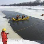Use caution near Poole's Creek and Carp River