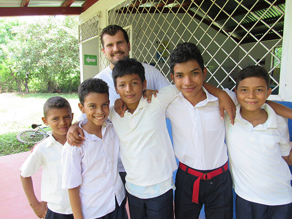 Parker Armstrong lent his engineering know-how to build three classrooms this summer, as part of our organization that has built a total of 80 classrooms to date in Nicaragua for impoverished children.