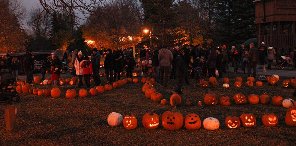 STITTSVILLE, ON. Nov 1, 2016. Pumpkin Parade at Village Square. Barry Gray (StittsvilleCentral)