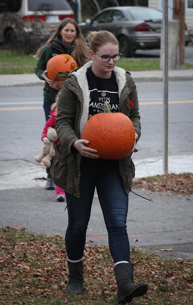STITTSVILLE, ON. Nov 1, 2016. Pumpkin Parade at Village Square. Some very creative carvings. Barry Gray (StittsvilleCentral)