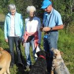 Dog park clean-up time around the corner and in the woods – Shea Woods that is