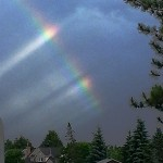 PHOTO: Wednesday evening rainbow