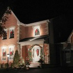HOLIDAY SPIRIT: The handsome lights of Renshaw Avenue