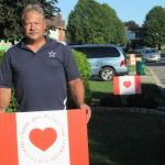 Stittsville man shows support for frontline healthcare workers