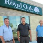 Royal Oak welcomes customers to their patio June 18