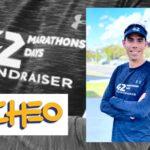 42 marathons in 42 days fundraiser supports childhood brain tumours