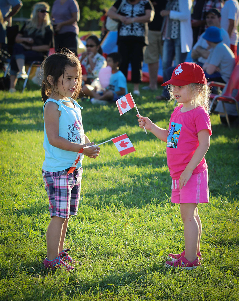 Canada Day 2017 in Stittsville. Photo by Barry Gray.