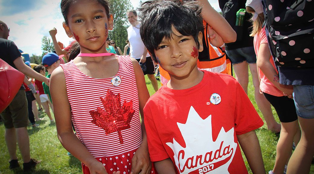 Canada 2017 in Stittsville. Photo by Barry Gray.