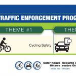 Safe cycling and distracted driving focus for police in July