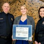 Stittsville's Special Constable Sarah Kennedy receives Award for Heroism