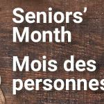 Celebrate Seniors Month – participate online in useful and fun library activities