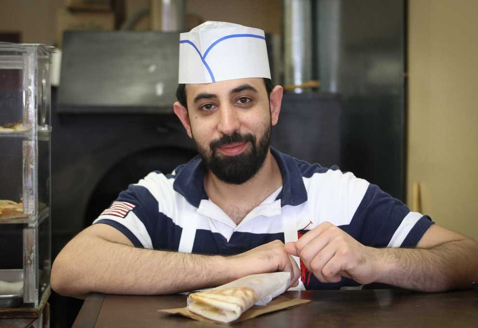 Stittsville resident Shams Feizi at Simbad Bakery. Photo by Barry Gray.