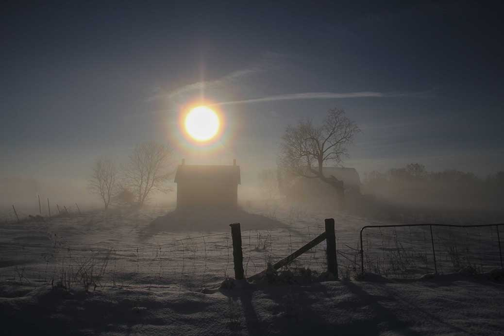 STITTSVILLE, ON. Dec 6, 2016. Moring fog at the farm. Barry Gray (Stittsvillecentral).