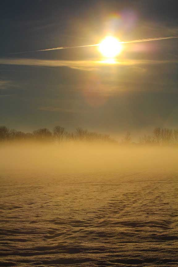 STITTSVILLE, ON. Dec 6, 2016. Early moring fog south of Stittsville. Barry Gray (Stittsvillecentral).