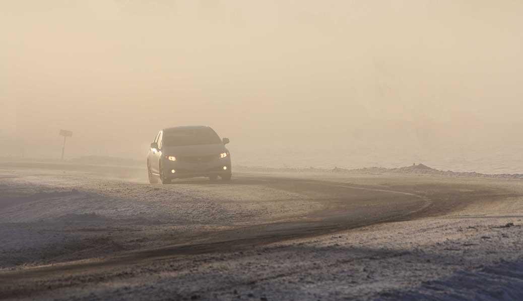 STITTSVILLE, ON. Dec 6, 2016. Ice fog in the morning. Barry Gray (Stittsvillecentral).