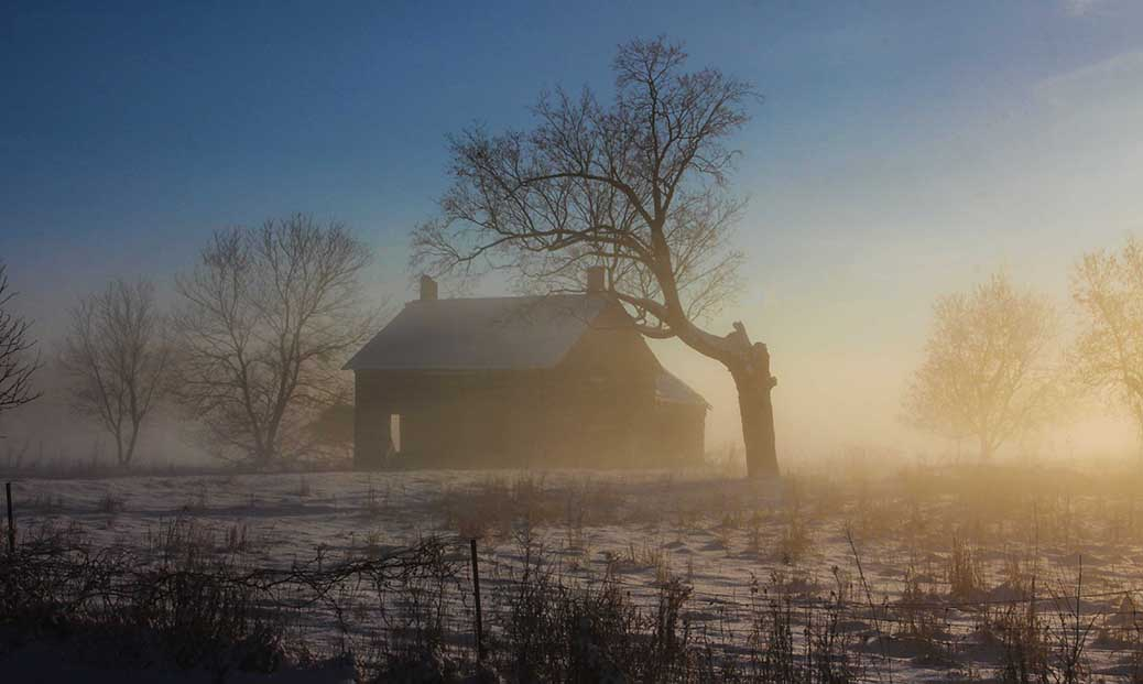 STITTSVILLE, ON. Dec.6 2016. Early morning fog. Barry Gray (StittsvilleCentral).