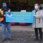 Offer of safe parking for equipment leads to donation for Stittsville Food Bank