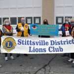 Stittsville District Lions help to fill the Christmas hampers at the Stittsville Food Bank