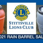 Stittsville Lions Club launch rain barrel fundraiser for World Water Day