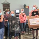 Staff at Wildpine shear their COVID locks for CHEO and childhood cancer