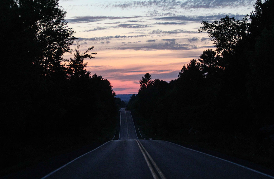 Tuesday Night Drive to Carp. Photo by Barry Gray.
