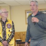 Stittsville & District Lions Club present cheque to Dunrobin tornado victims