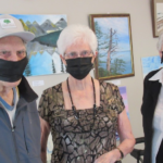 Talent showcased at the first annual art appreciation show for Wildpine residents