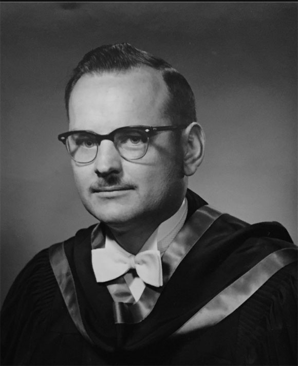 Arthur Lorne Cassidy after receiving his BA from Queens University, 1958. (courtesy of the Cassidy family)