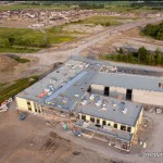 PHOTO: Bird's eye view of the new French Catholic high school