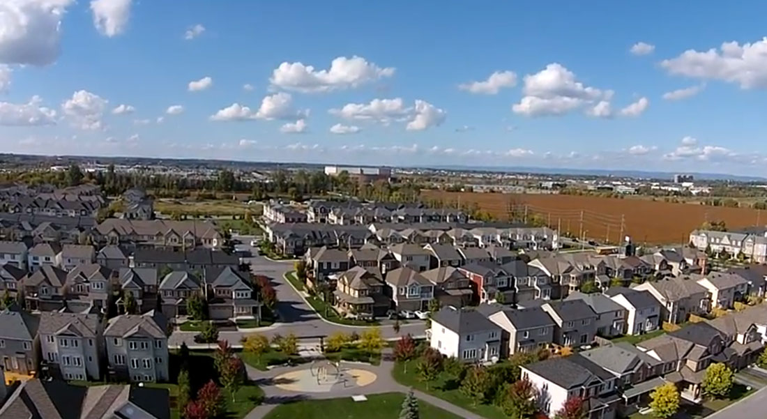 Aerial photo of Fairwinds. From Hien Hoang's video.