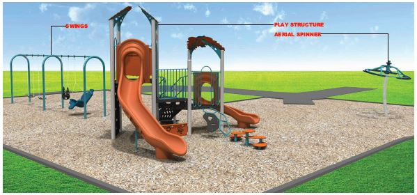 Amberway Park concept