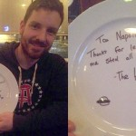 The Hamburgler Andrew Hammond stops in for dinner at Napoli's
