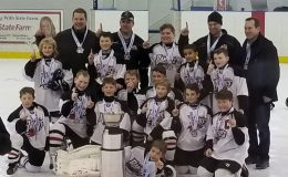 The Stittsville Rams Atom B2 Team Bandits won the gold at the Kingston Hockey Tournament this weekend,