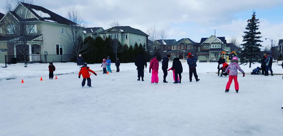 Bandmaster neighbourhood skate on February 18, 2018.