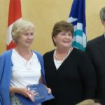 Barbara Bottriell recognized with Roger Griffiths Memorial award