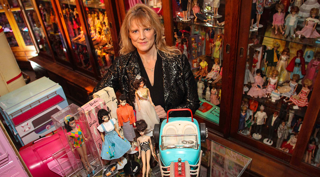 Elizabeth Kondruss, owner and curator of Stittsville's Barbie museum. Photo by Barry Gray